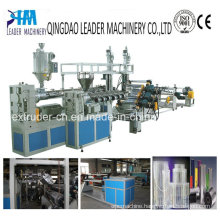 3 Layers ABA Type PP/PS/HIPS Thermoforming Sheet Extrusion Line