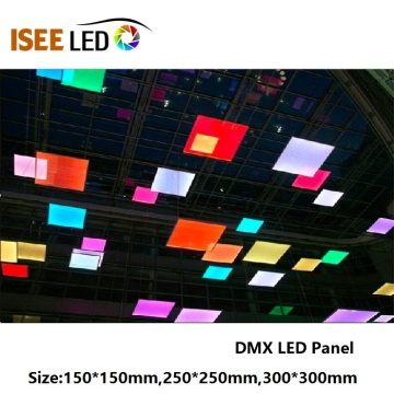 RGB SMD5050 DMX512 LED Panel Lambası