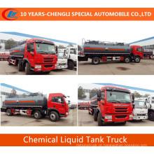 Caminhão de petroleiro líquido químico 25 Cbm do caminhão de tanque para a venda