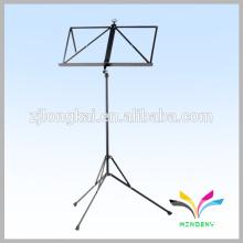 black supermarket folding wire metal easel stand/shelf