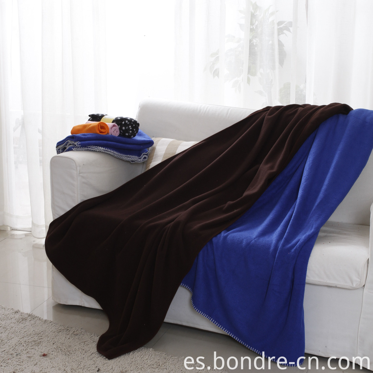 polar fleece blanket throw (1)