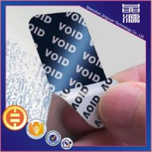 Custom VOID Security Hologram Label Sticker
