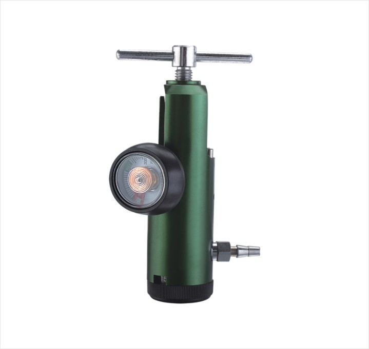 Latex Free Mini Oxygen Regulator