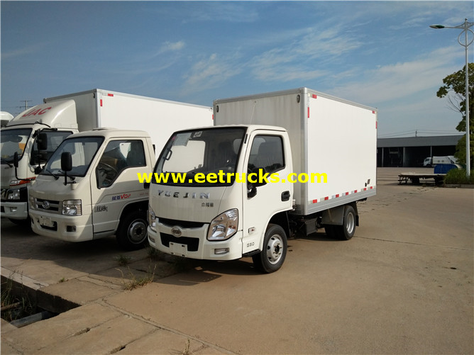 Yuejin Refrigerated Van Vehicles