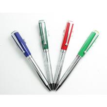 Bunter magischer Slogan-Streifen-fördernder Stift