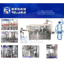 Equipo automático de embotellado de agua mineral para botella de mascota