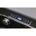Aokeliya black freestanding massage bathtub clear bathtubs whirlpools acrylic
