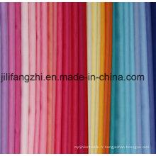 Polyester / tissé / sergé de coton / chimique / fil teint / Popc Tc / Shirting / doublure / Pocketing Fabic