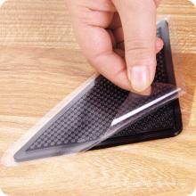 No trace 100% pu gel anti slip floor mat for rug gripper