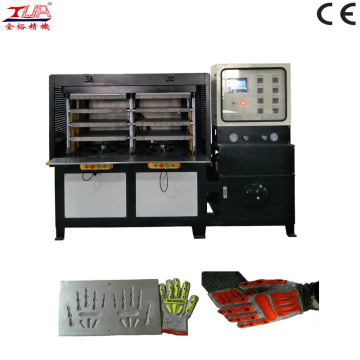 automatic kpu glove upper heating pressing machine