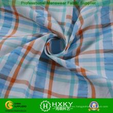 Hilado teñido de tela de Nylon poliester con patrón de tela escocesa para la camisa de Men′s