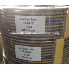 spiral wound gaskets from SUNWELL manufacturer
