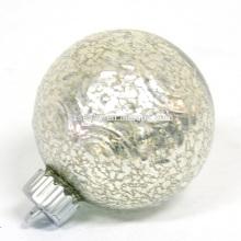 Рождество светодиодной подсветкой украшение орнамент стеклянный шар с подсветкой