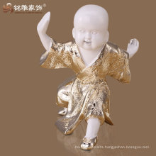 2016 hot sell resin home decoration wholesale little monk figurine