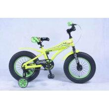 Crianças 4 roda bicicleta brinquedos Metal Bike brinquedo por 3-6 anos velha criança