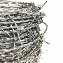 UK Australia Canada USA Amazon Vidaxl Galvanized Steel Wire 2mm Barbed Wire Weight 25 Kg