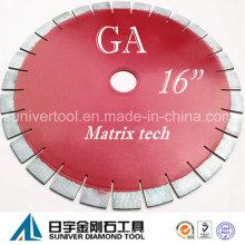 """GP 16 """"* 25 mm zufrieden stellendes Ergebnis Diamant Granit schneiden Sägeblatt"""