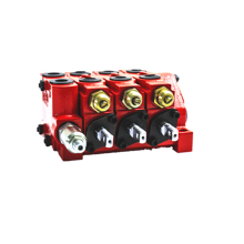 Small Construction Machinery Sectional valves