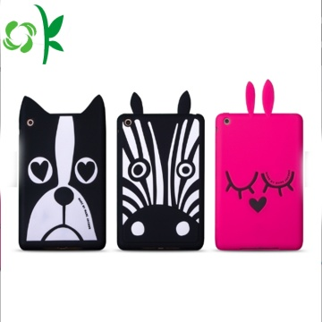 Kustom Kartun Dog Silicone Tablet Case Cute Cover