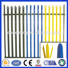 Palisade Fencing with Various colors from chinese factory