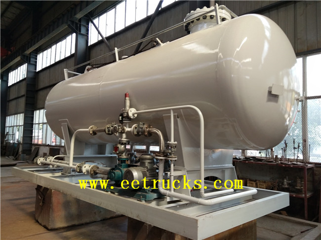 5 TON Skid Mounted LPG Tanks
