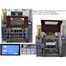 China Supplier Automatic Polythene Stretch Film Winder Machinery