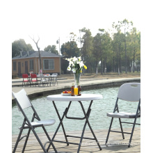 80cm Modern Small Round Plastic Folding Table