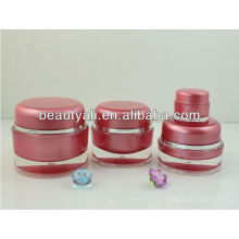 5ml 15ml 20ml 30ml 50ml 100ml 200ml Round Red Acrylic Jar Cosmetic Packaging