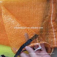 fresh vegetable packing mesh bag/fruits/PP tubular vegetable mesh bag