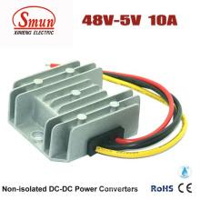 Impermeable IP68 48VDC a 5VDC 10A Reduzca el Convertidor DC-DC