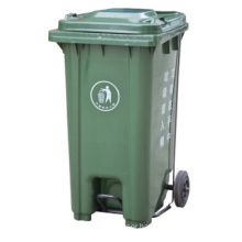 Easy Open Foot Pedal Plastic Waste Container (FS-80240D)