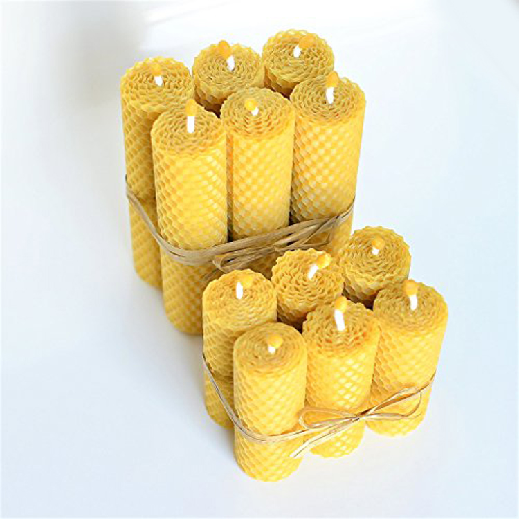 Hand Rolled Beeswax Candle