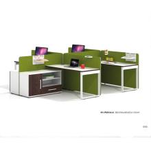 120 Degree Office Workstation Open 4 Person Working Workstation Computer Desk