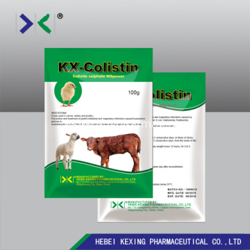 Polvo soluble animal de ciprofloxacina