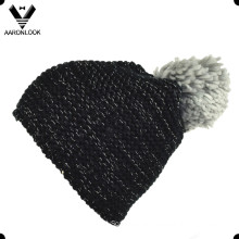 Winter Warm Knitted Big Bobble Hat