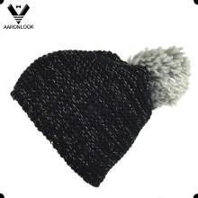 Sombrero grande hecho punto caliente de Bobble del Invierno