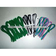 limpiador de tuberías de cordón peludo verde