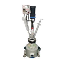 2L 5L 50L 100L 200L Lab Tubular Condenser Heating Control Chemical Single glass reactor