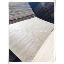 Fuente del fabricante de madera cortada burma teca chapa contrachapada