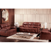 Living Room Sofa with Modern Genuine Leather Sofa Set (925)
