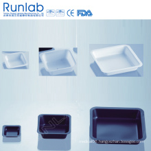 250ml Square Black Weighing Boat