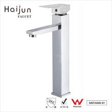 Haijun Manufacture Health Chrome Single Handle Deck-Mounted Basin Faucets