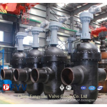 API6d Electric Flanged Through Conduit Gate Valve
