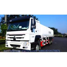 SINOTRUCK 6X4 camión de tanque de neumáticos de 10 ruedas