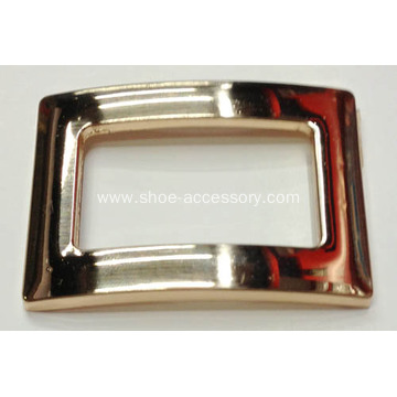 Rectangle Metal Shoe Buckles with the Middle Hollow Out