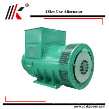 High efficiency 60kva small generator ac italy single phase low rpm alternator