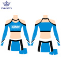 Benutzerdefinierte Cheer Crop Top Uniformen