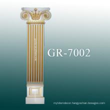 polyurethane column for decoration