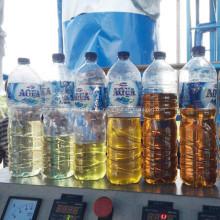 ¿Qué es el diagrama de flujo del proceso de destilación de petróleo crudo?