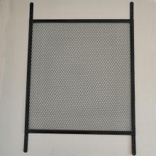 Écrans de sécurité pour fenêtre à grille d'aluminium